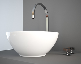 3D model NIC Design Flavia wash-basin
