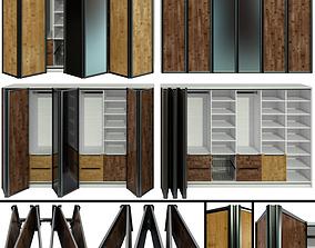 3D Wardrobe folding doors