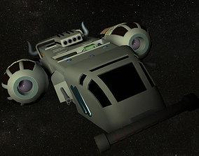 Xpress Fighter Spacecraft 3D