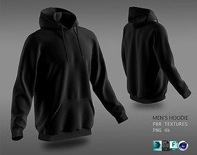 3D model hoodie 02