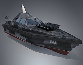 Stealth Patrol Boat 3D model