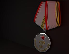 Soviet Medal 3D model