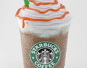 Frappuccino Caramel 3D