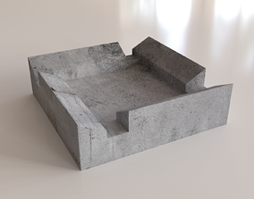 realtime Ashtray 3D print model 3D