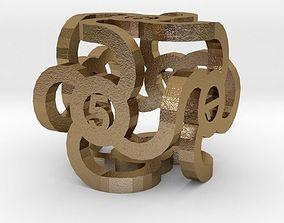 Dice 3D printable model gadget