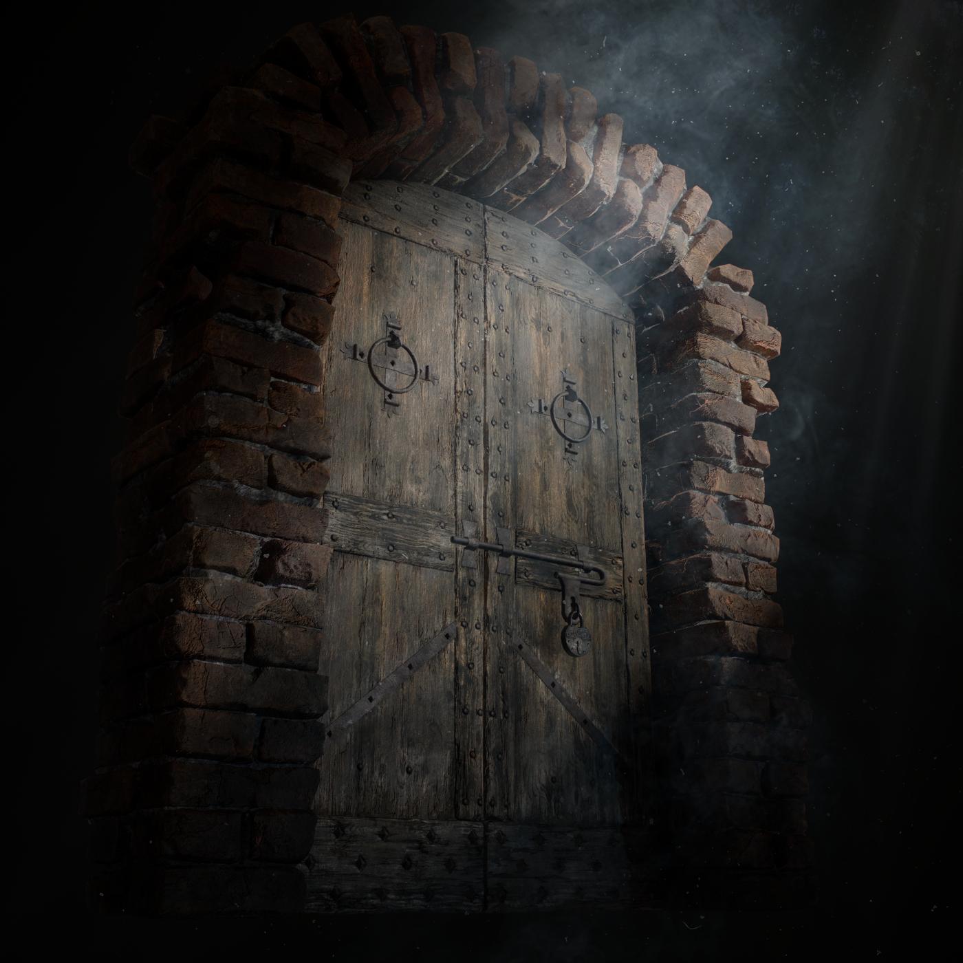 Old Medieval Door