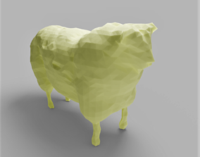 Geometric Sheep 3D asset