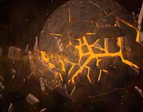 3D Planet Bursting