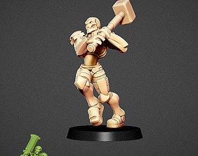 3D print model Charger Warforged warrior