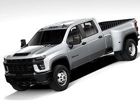 3D Chevrolet Silverado 3500HD 2020