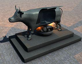 Brazen Bull Torture Device 3D