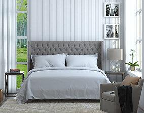 Bedroom Scene 01 3D model