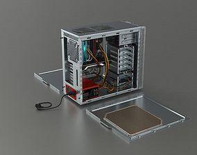 3D asset Assembled PC Rigged