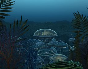 3D Seabed City