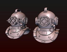 Diving Helmet 3D printable model