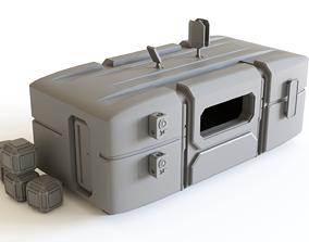3D print model Sci fi Colony Module for tabletop scenery