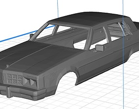 Regency Body Car Printable 3D