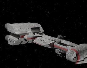 3D model Correlian corvette