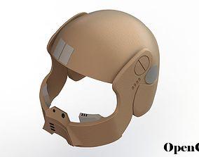 Star Wars Resistance Trooper Helmet 3D printable model