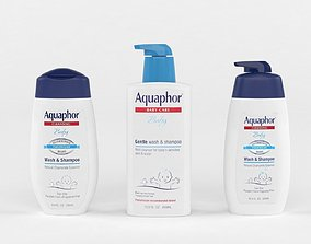 Aquaphor Baby Wash and Shampoo 3D