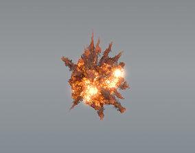 Aerial Explosion 01 - VDB 3D