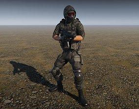 Elite Mercenary PBR 3D model