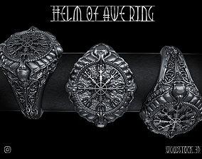 Helm Of Awe Ring 3D printable model