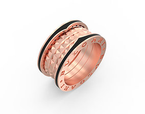 3D print model Ring Zero Enamel Version Ring Size 18mm