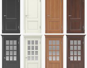 Classic interior doors 02 3D
