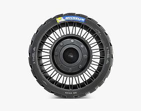 Michelin Tweel 16 5 inch S 3D model