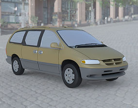 3D model 1996 Dodge Caravan