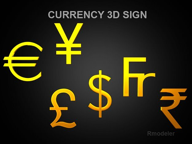 currency-sign-3d-model-obj-3ds-fbx-c4d-l
