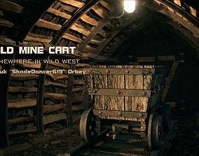 Old Minecart dark 3D