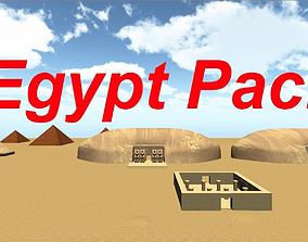 3D asset Egypt Pack