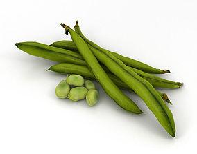 Green Bean 3D model