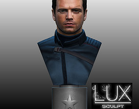 Bucky Barnes Winter Soldier by 3D printable model 2