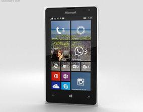 Microsoft Lumia 532 White 3D