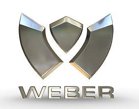 weber logo sumbol 3D