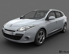 Renault Megane GrandTour 2010 3D model