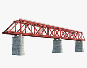 3D Railroad bridge