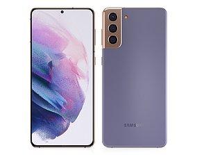 3D model Samsung Galaxy Plus S21 Phantom Violet