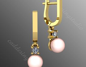 Earrings n1 3D print model