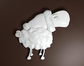 3D print model Christmas Sheep Stl
