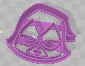 Ravens from Teen Titans Go Cookie 3D printable model 2
