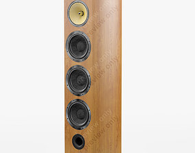 3D model Bowers and Wilkins 803 D2 Cherrywood