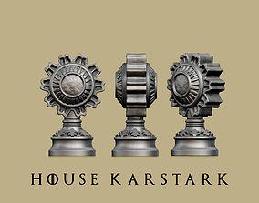 Game of thrones - House Karstark marker 3D print model