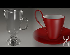 Coffee Cups 3D PBR