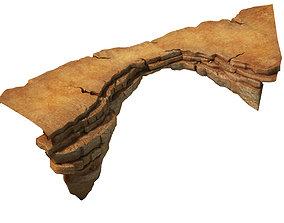 3D model Death Desert - Stone Bridge 03