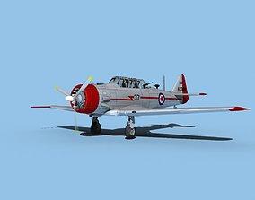 North American AT-6 Texan V09 Canada 3D model
