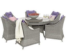 Outdoor furnitures 04 3D model